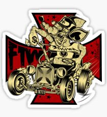 FTW RAT-ROD Sticker