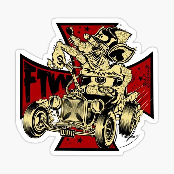 FTW RAT-ROD Sticker
