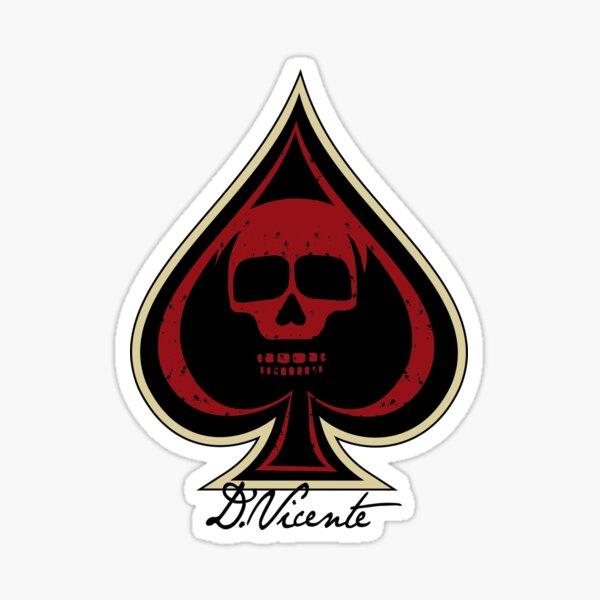 SPADE OF DEATH Sticker