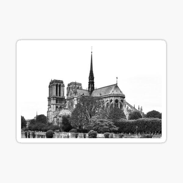 Paris - Cathédrale de Notre Dame Sticker