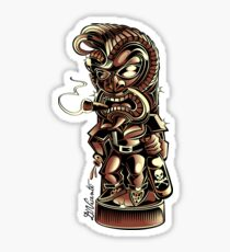 TIKI ROCKER Sticker