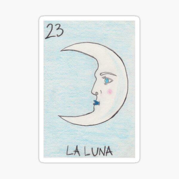 La Luna Sticker