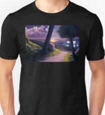 Path to Sunset Sea Unisex T-Shirt