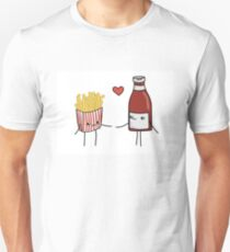 Chips and Ketchup Unisex T-Shirt