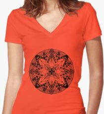 Spring II Women's Fitted V-Neck T-Shirt
