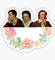 The Romantic Trio Sticker
