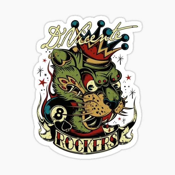 ROCKERS Sticker