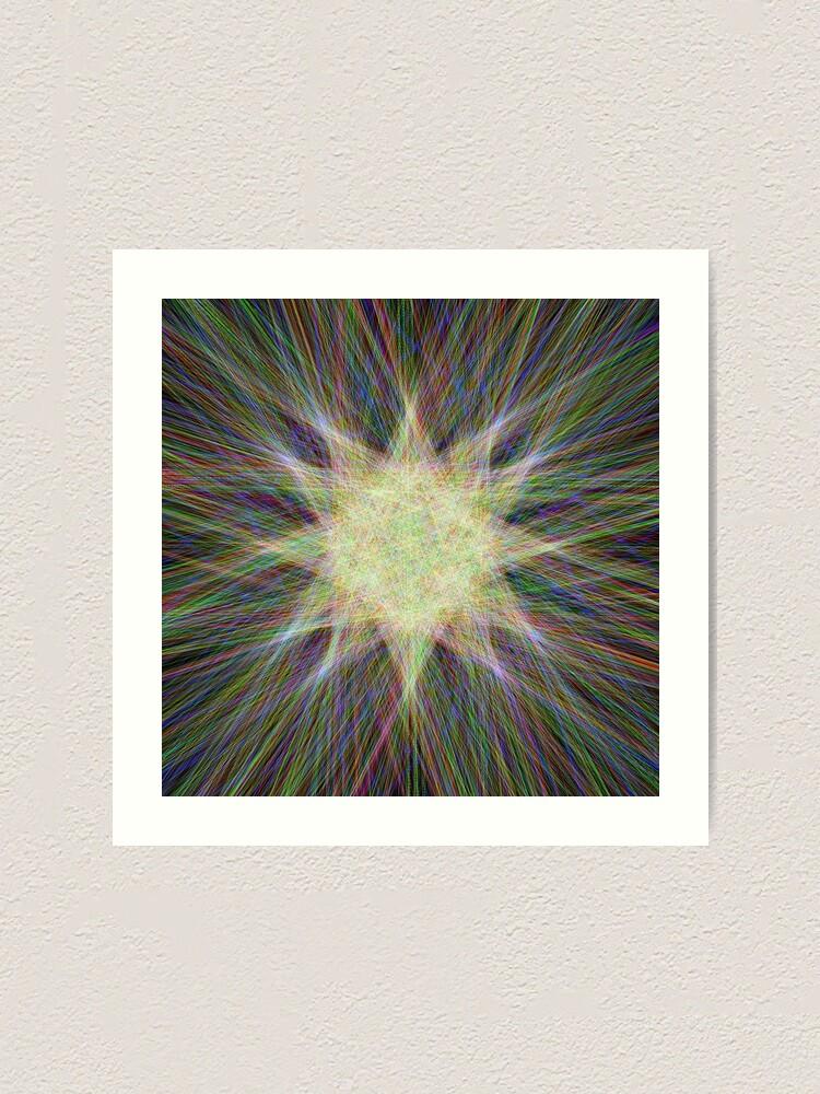 Alternate view of Star, Star, Star! Art Print