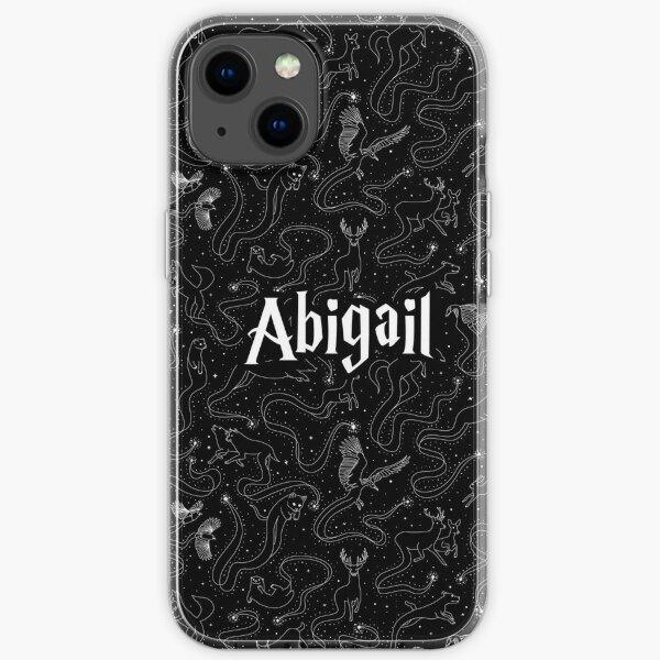 Abigail Expecto Patronum - Name des Zauberassistenten iPhone Flexible Hülle