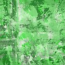 Abstract Study In Green by Printpix
