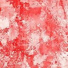 Abstract Study In Red by Printpix