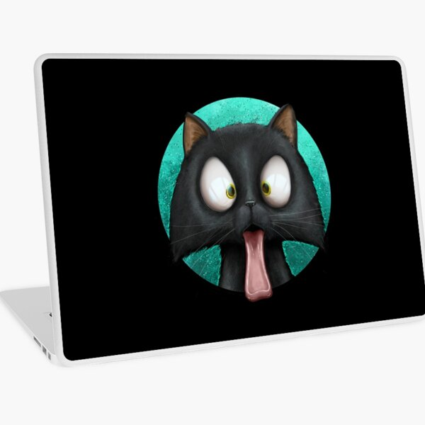 Cats With Their Tongues Out Laptop Skin