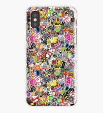 JDM Sticker Bomb iPhone Case