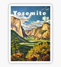 Yosemite Travel Sticker
