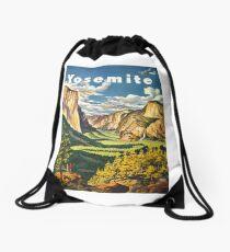 Yosemite Travel Drawstring Bag