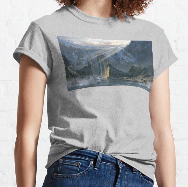 Naurgrix Perch in Mythrayne Classic T-Shirt