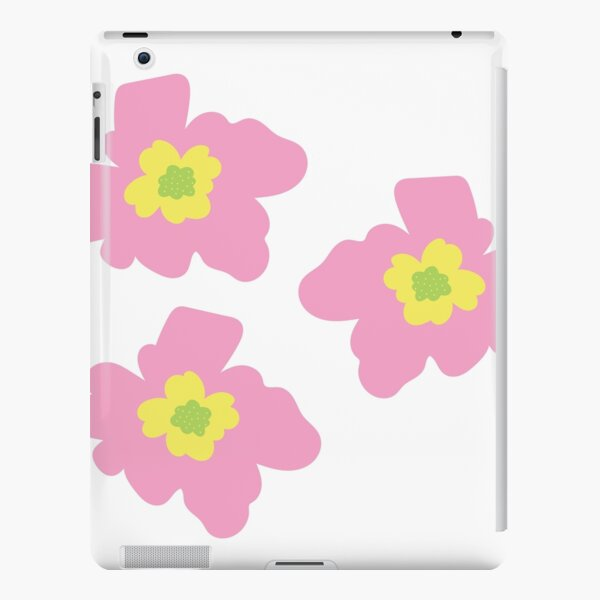 Pink, Yellow And Green Flowers iPad Snap Case