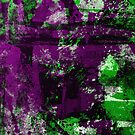 Abstract Study In Green And purple by Printpix