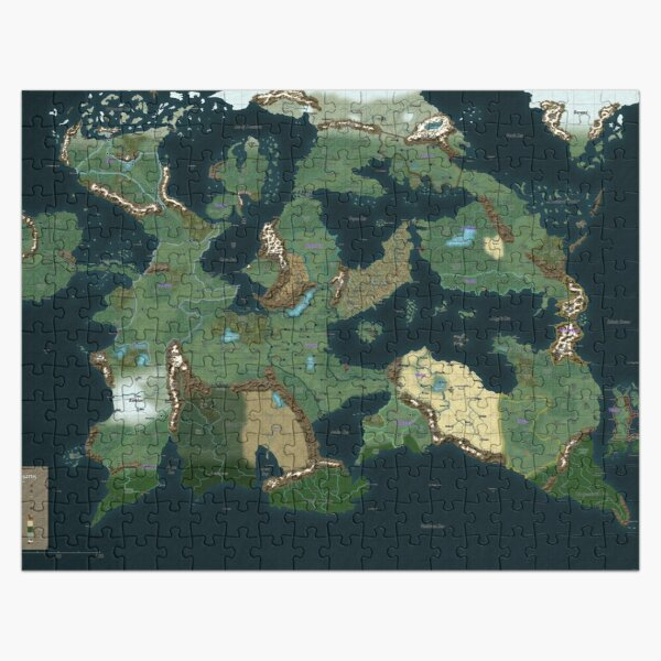 Vathis Map Jigsaw Puzzle