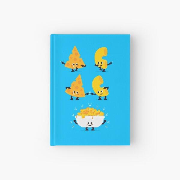 Fusion de personajes - Mac N Cheese Cuaderno de tapa dura