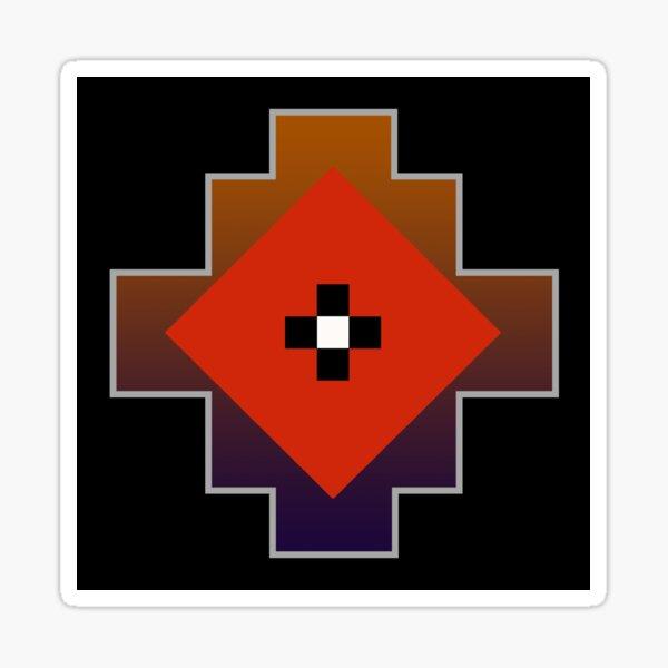 Nez Perce Tribe Pattern 1 Sticker