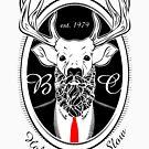 Deer Beard Suit BLK by BeardGifts
