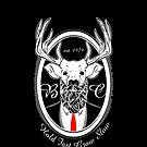 Deer Beard Suit WHT by BeardGifts