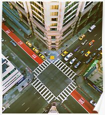 Union Square Intersection Poster