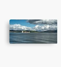 The River Clyde at Greenock, Scotland Canvas Print