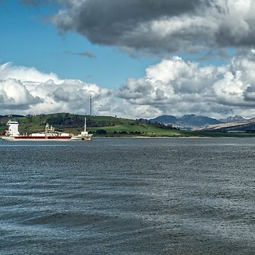 The River Clyde at Greenock, Scotland by 242Digital