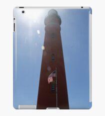 Sun Shines on Ponce de Leon Inlet Lighthouse iPad Case/Skin