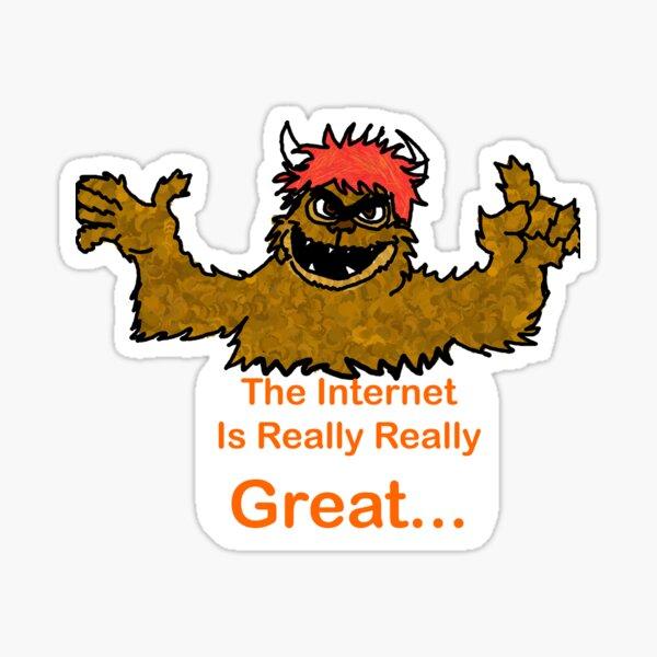Avenue Q - Trekki Monster - The Internet Sticker