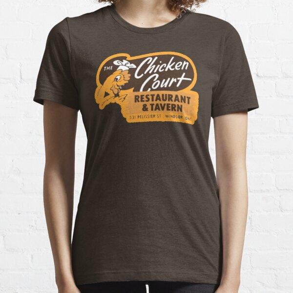 THE CHICKEN COURT RESTAURANT AND TAVERN SHIRT AND STICKER  Essential T-Shirt