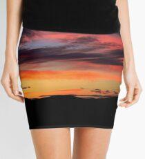 A sunset in Bonanza, Oregon Mini Skirt
