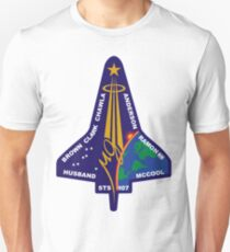 STS-107 Space Shuttle Columbia Mission Logo T-Shirt