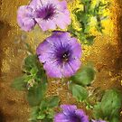 Petunias by Gilberte