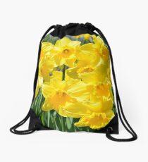 Spring Daffodils Drawstring Bag