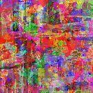 Vibrant Chaos by Printpix