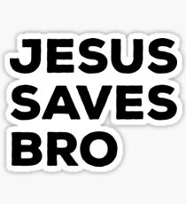 Jesus Saves Sticker