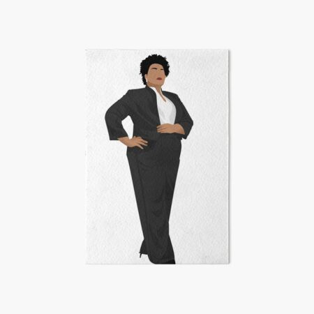 Stacey Abrams Art Board Print