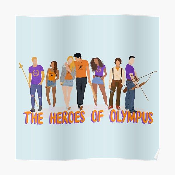 Copia de Los siete, héroes del Olimpo Póster