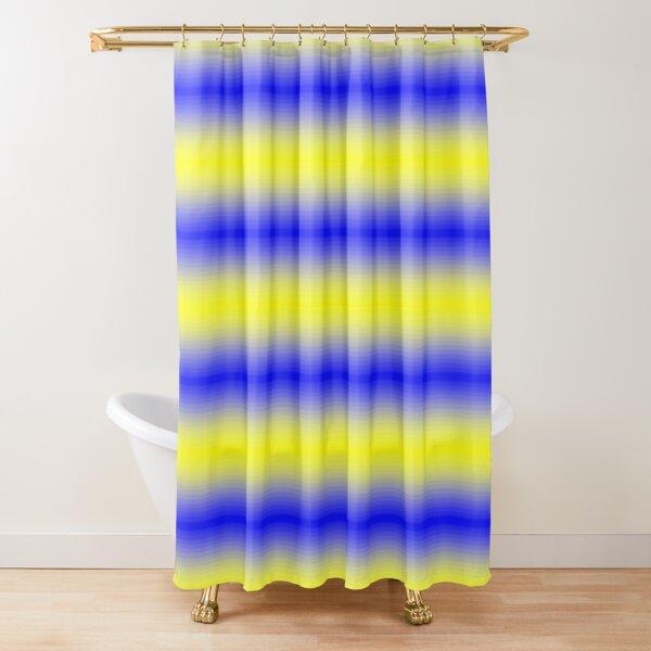 Psychedelic Pattern, Op Art Shower Curtain