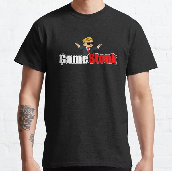 GameStonk WallStreetBets GME To The Moon Classic T-Shirt