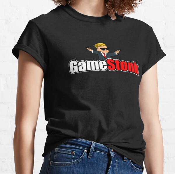 GameStonk WallStreetBets GME To The Moon T-shirt classique