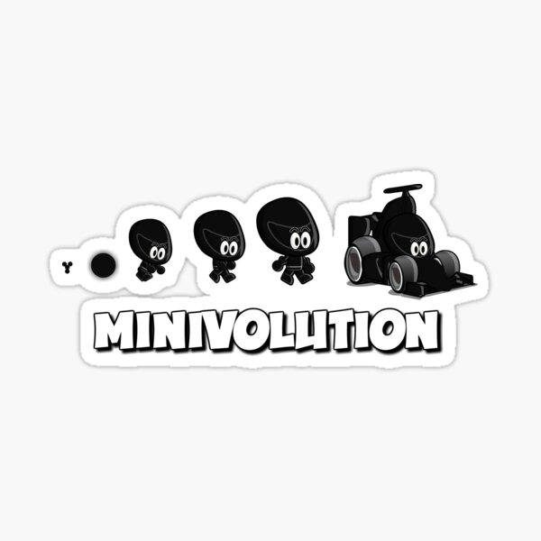 Mini Evolution - MiniDrivers Sticker