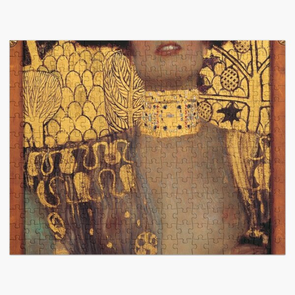 Judith and the Head of Holofernes (also known as Judith I) is an oil painting by Gustav Klimt created in 1901. It depicts the biblical character of Judith Jigsaw Puzzle