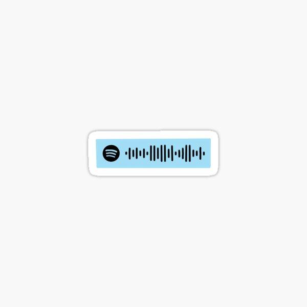 Here Comes the Sun Spotify Code Sticker