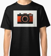 Old Camera - Metallic Geometric Art Classic T-Shirt