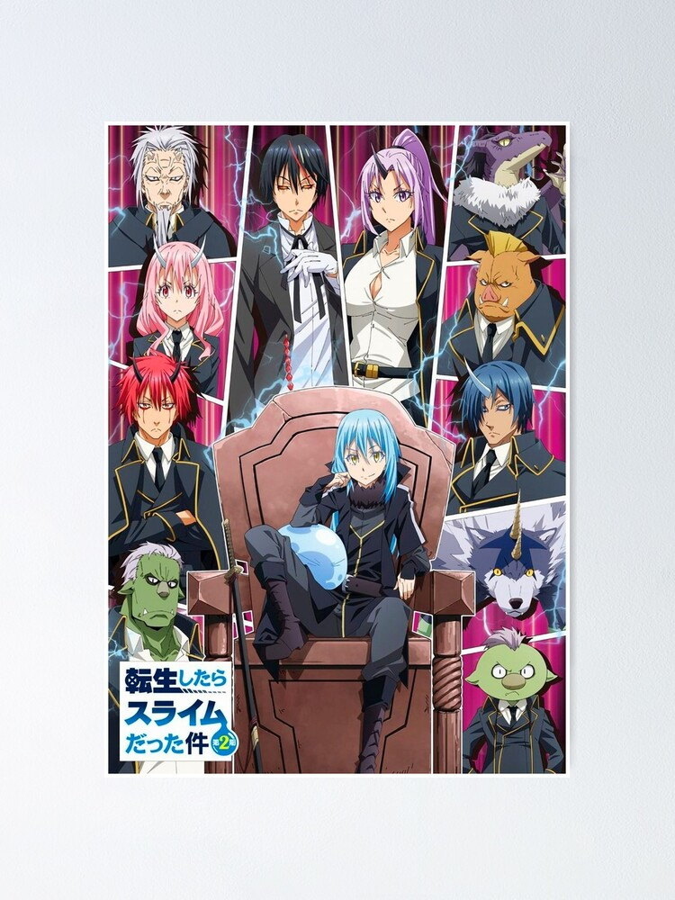 Alternate view of tensei shitara slime datta ken Poster