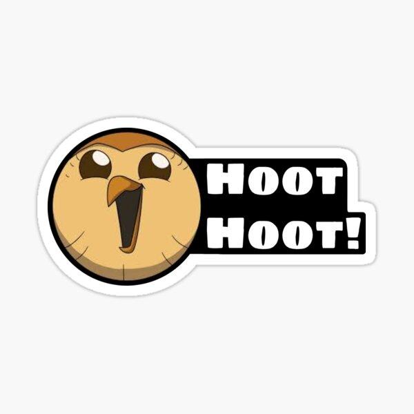 """""""Hoot Hoot"""" - Hooty, The Owl House Sticker"""